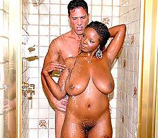 Check out these amazing round chocolate mounds ot titty and ass in these hot shower fucking and cum faced movie updates