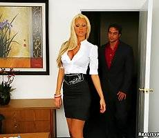 Super sexy big tits tanja james interviews a prospect and asks to get fucked for the job in this hot update