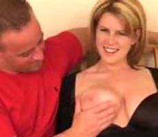 Busty bueaty shows what a pro cock sucker she is