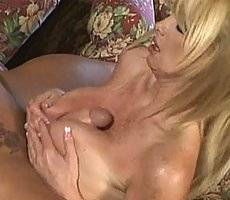 Fucking a perfect busty blonde slut