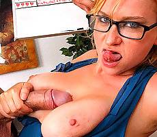 Violetia needs english lessons but her big boobs do all the talkin in these huge tits fuckikng and pussy licking vids