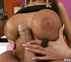 Her pussy gets some cum in it. Alison Star