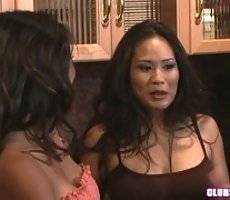 Sexy Asians Jessica Bangkok and Kina Kai  - club sapphic