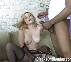 blacks on blondes - Aiden Starr