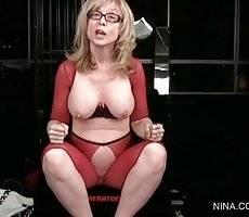 Nina Hartley with big boobs